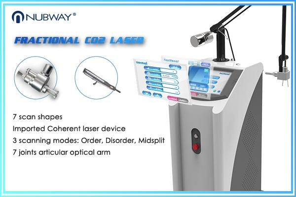 40W Vaginal Rejuvenation Machine , Carbon Dioxide Laser Skin Treatment Equipment