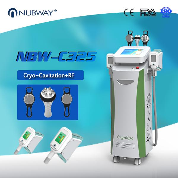 Fat Loss Machine 3 in 1 Cavitaion RF Weight Loss Fat Freezing Cryolipolysis Body slimming
