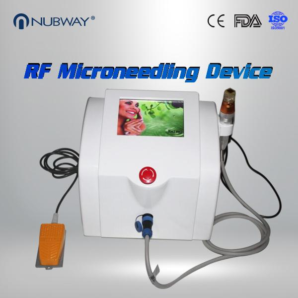 Wrinkles Removal RF Microneedling Machine With 25 Pins 49 Pins  81 Pins Optional
