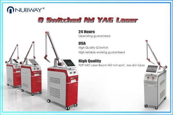 Laser Tattoo Removal Pigmentation Skin Tightening Q Switched Nd Yag Laser Machine