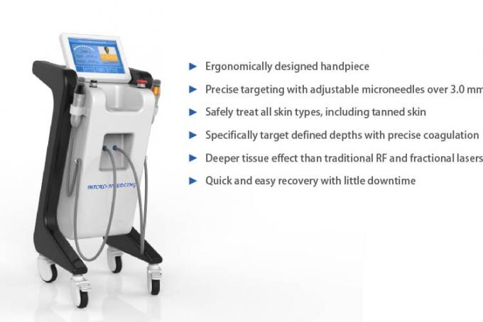 Beauty Salon Fractional RF Microneedling Machine Using Sterilized Disposable Needle Tip