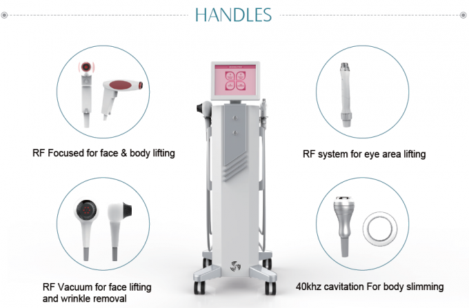 Effectively Thermolift Machine / Thermal Rf Face Lift Machine 40.68MHZ Frequency