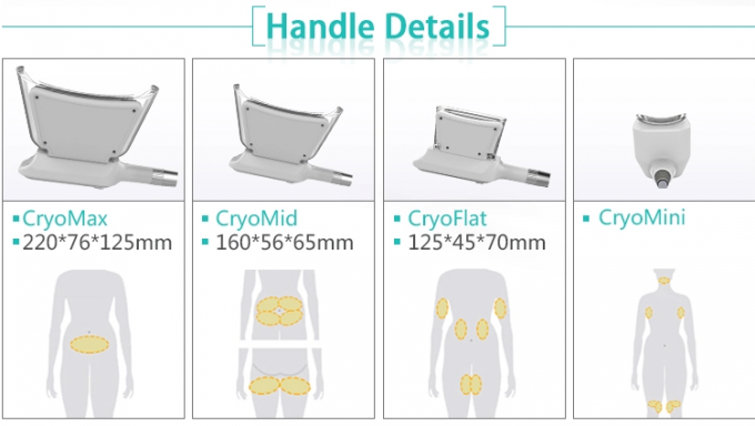 Latest Cryolipolysis Fat Freeze Slimming Machine Cool Shaping Device