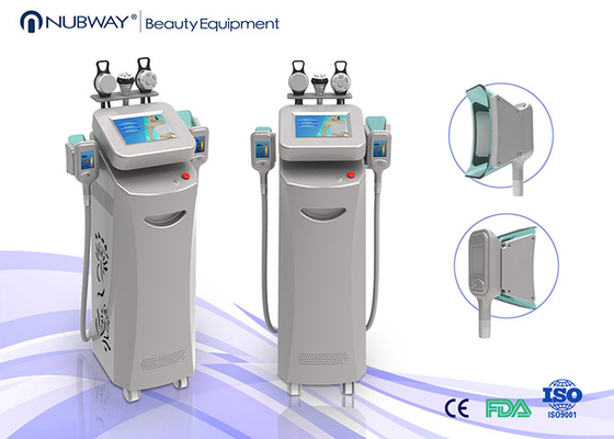China Nubway Beauty Equipment 5 handles Fat Freezing Machine Cryolipolysis Slimming Machine supplier