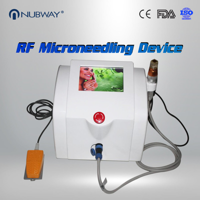 China Portable Radio Frequency Face Lift Device , Gold Plating Skin Needling Machine supplier