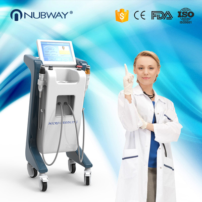 China Beauty Salon Fractional RF Microneedling Machine Using Sterilized Disposable Needle Tip supplier