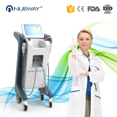 China 80W Power Fractional Microneedling Rf Machine , 5MHZ RF Face Lift Machine supplier