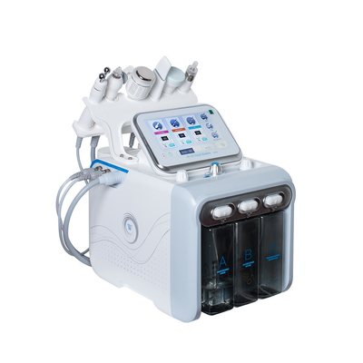 China Portable Hydrafacial Microdermabrasion Machine Facial / 6 In 1 Facial Machine supplier