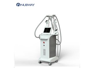 China 4 Handles Vacuum Roller Slimming Machine , Cellulite Removal Machine 10MHz supplier