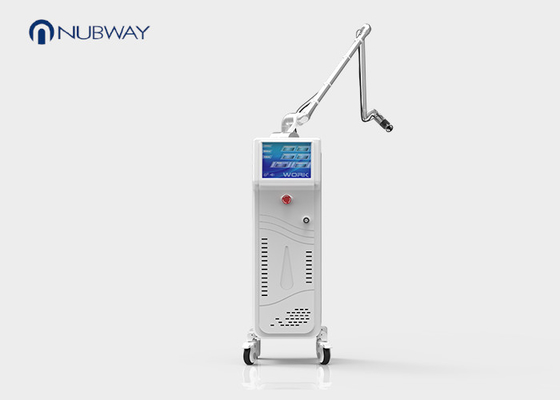 China Skin Tightening Co2 Fractional Laser Machine Hinged Arm 10600nm Wavelength supplier