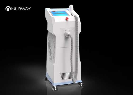 China Pain Free Laser Hair Removal Machines , Permanent Underarms Hair Removal Machine supplier