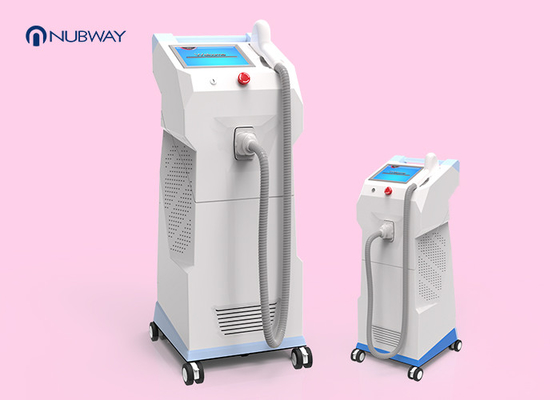 China No Pigmentation 808nm Diode Laser Hair Removal Machine For Beauty Salon supplier