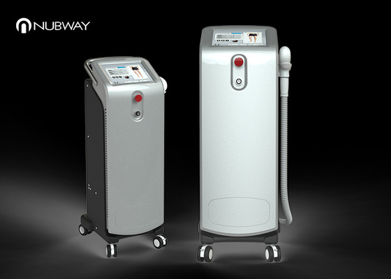China Fast Speed 808nm Diode Laser Hair Removal Machine For Any Color Hair supplier