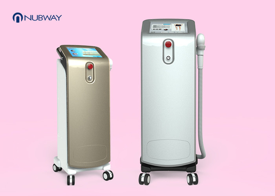 China Vertical Type Commercial Laser Hair Removal Machine For Underarms / Thighs Area supplier