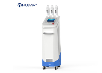 China Vertical Type IPL SHR Hair Removal Machine -4-0 Degree Cooling Temperature supplier