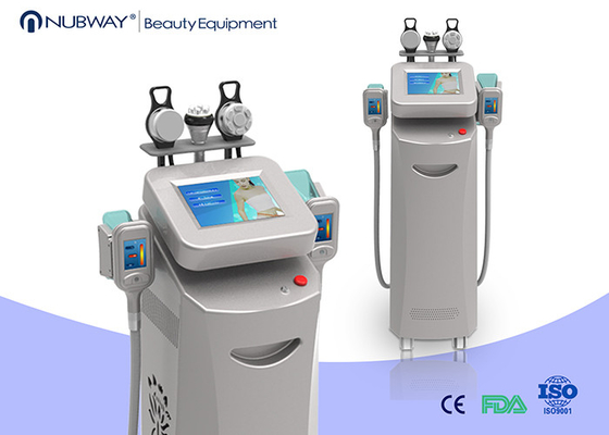 China Multi Functional Ultrasonic Liposuction Cavitation Rf Slimming Machine 5 Handles supplier