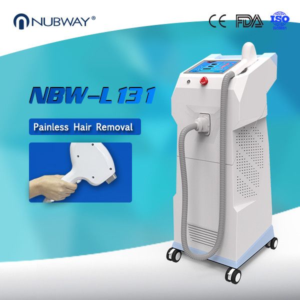 12*20mm Big Treatment Spot Size Permanent 808nm Diode Laser Hair Removal Machine