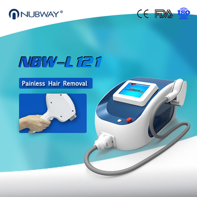 China China Nubway 1-10hz 1800W 808nm Diode Laser Hair Removal Machine distributor