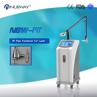 China Factory Price Beauty Equipment Manufacture 40W 0.10mm RF Pipe Fractional CO2 Laser Machine distributor