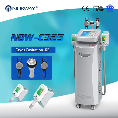 China Beauty Machine with Different Color Cryolipolysis machine Cavitaion RF Fat Freezing slimming distributor