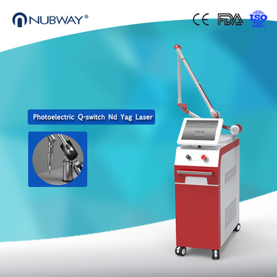 China Nubway Q Switched Nd Yag Laser Tattoo Removal Pigmentation Removal Machine distributor