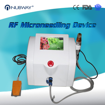 China Nubway Wrinkle Scars Removal Fractional RF Microneedling Skin Rejuvenation Machine distributor