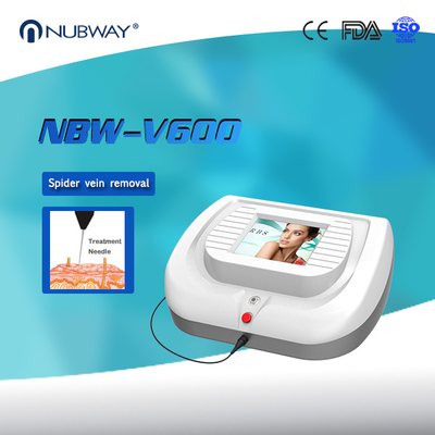 China 30MHz 0.01mm Needle Spider Veins Facial Veins Removal Machine distributor