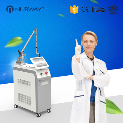 China Professional 1064nm/532nm q switched yag laser colorful tattoos removal machine distributor
