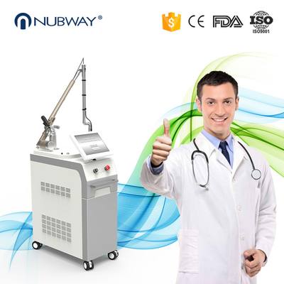 China Best Effective q switch nd yag laser tattoo removal machine pigments removal distributor