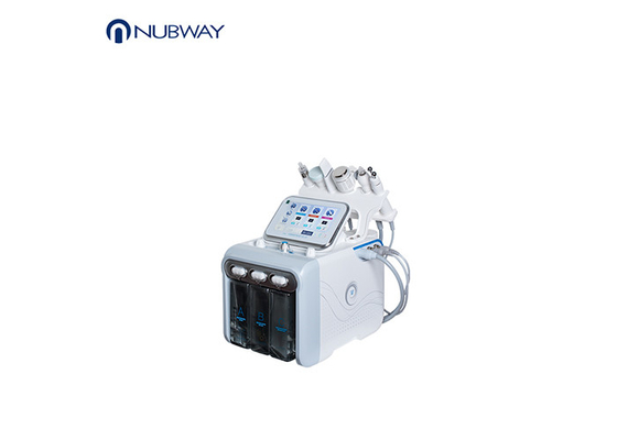 H2O2 Facial Beauty Hydrafacial Microdermabrasion Machine / Hydro Peel Machine