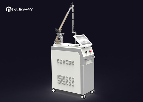 Korea Arm Q Switched Nd Yag Laser Tattoo Removal Machine Remove Melanin Colleagues