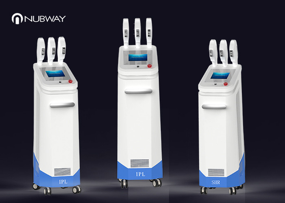 China IHR / SR Handles IPL SHR Hair Removal Machine For All Hair And Skin Types factory