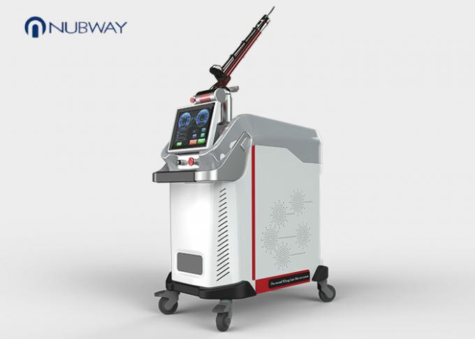 755nm 1064nm 532nm Laser Freckle Removal Machine , Tattoo Removal System