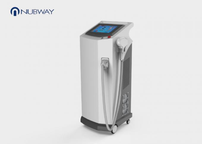 Medical Grade Diode Laser Hair Removal Machine For Arms / Legs / Back Area