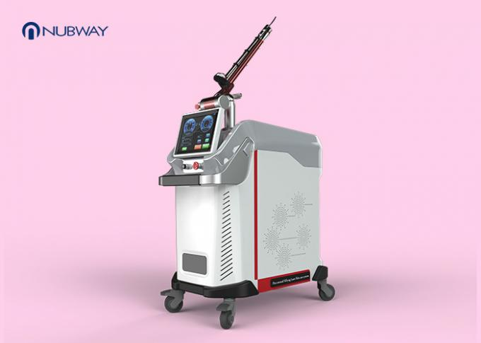 User Friendly Q Switched Nd Yag Laser Tattoo Removal Machine Short Pulse Output Mode