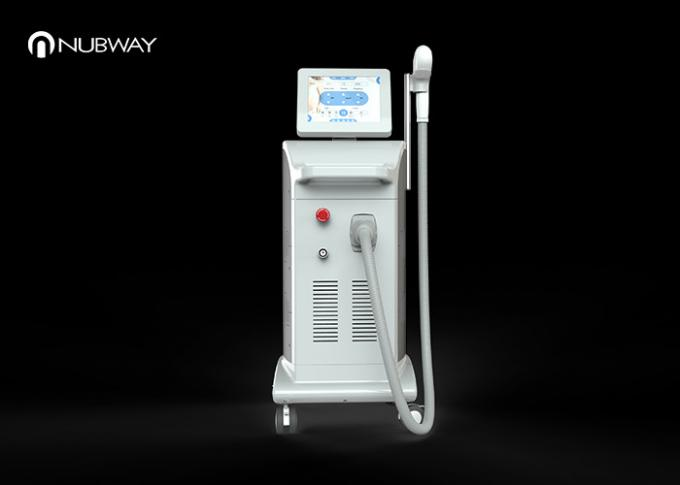 Strong Power 3 In 1 Diode Laser Hair Removal Machine With 12x20mm Spot Size
