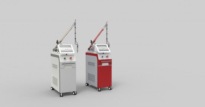 Painless Q Switched ND YAG Laser Machine Pigmentation Removal Equipment