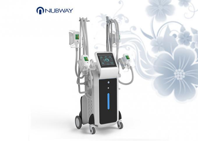 Latest Cryolipolysis Fat Freeze Slimming Machine 4 Handles Work Together